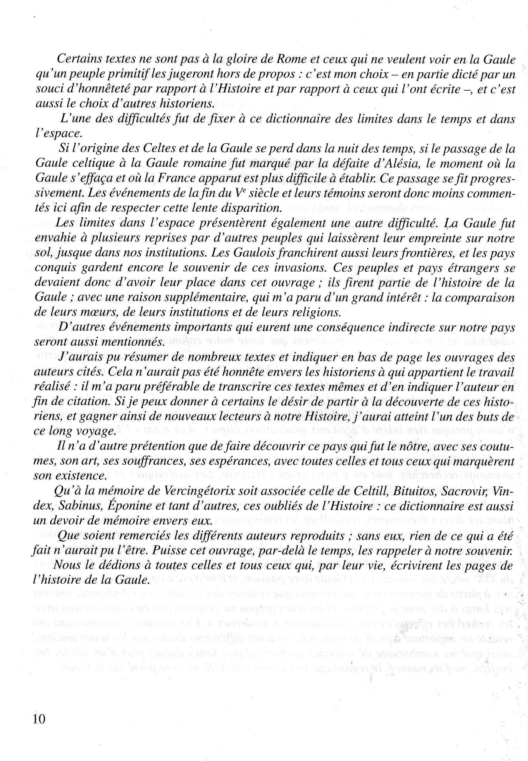 avant propos de Jean Pierre Picot